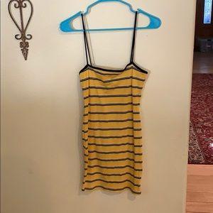 NWOT F21 Striped Dress Size M